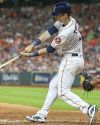 02- Kyle Tucker - flat / Baseball / Mini Item Autograph - 8/7/2021 - 11:00AM
